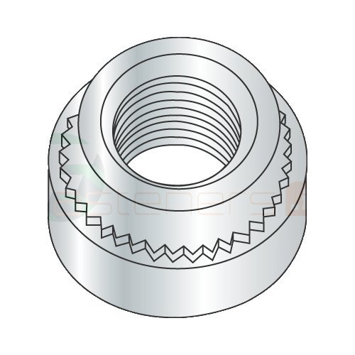 10-32-1 Self Clinching Nuts/Steel/Zinc/Shank Height: .038''/Sheet Thickness: .040'' (Carton: 8,000 pcs)