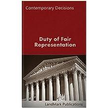 Duty of Fair Representation (Employment Law Series)