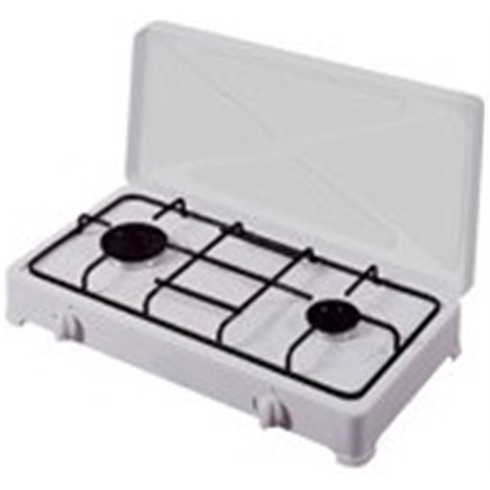 Vitrokitchen 200BB hobs - Placa (Mesa, Gas, Color blanco, Giratorio, Frente, 60 cm): Amazon.es: Hogar