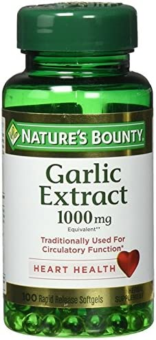 Nature's Bounty Odorless Garlic 1000mg