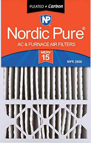 charcoal air filter 16x25 - 8