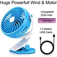 2018 Portable Personal USB Fan with Battery inside Wired and Wirless Running for Kitchen, Office, Person, Car, Outdoor