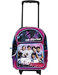 Large Rolling Backpack - One Direction - Kids Gifts Toys School Bag New 078847