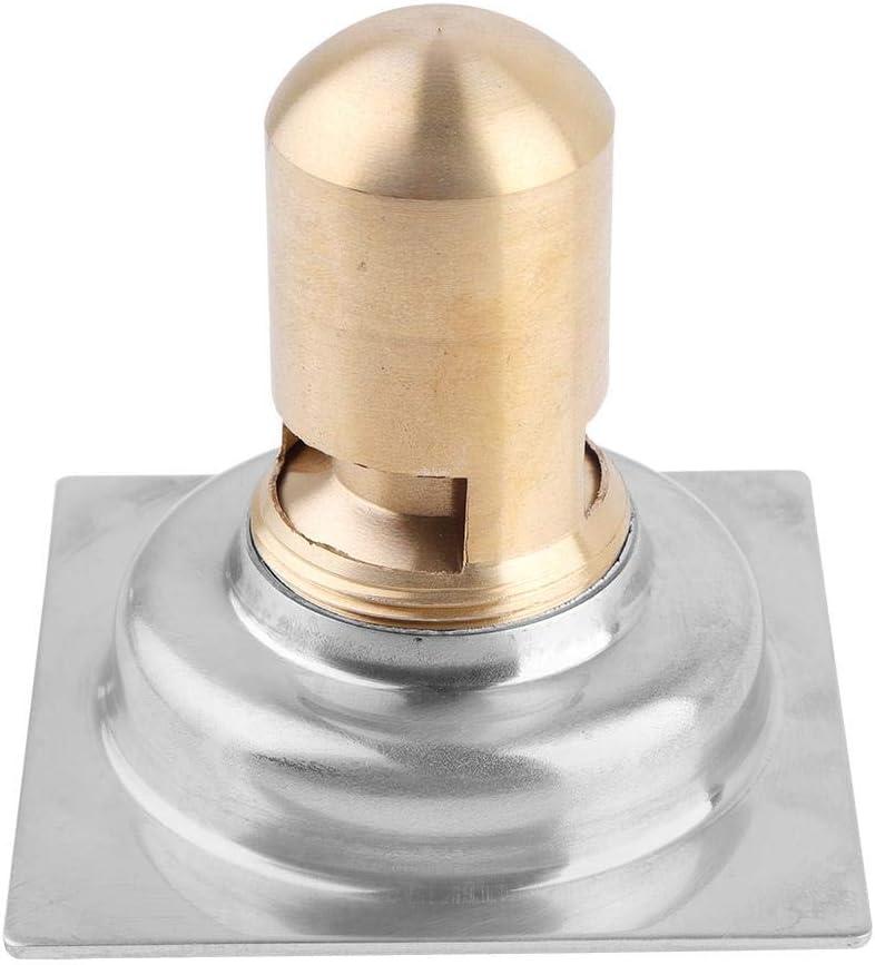 3,54 * 3,54 Zoll Bodenablauf f/ür Waschmaschinen Bodenablauf f/ür Deodorantabf/älle Duschbodenablauf im Badezimmer Verdickter schwerer Haushaltsbodenablauf aus Edelstahl