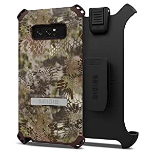 Seidio Unique Cell Phone Case for Samsung Note 8 - Green