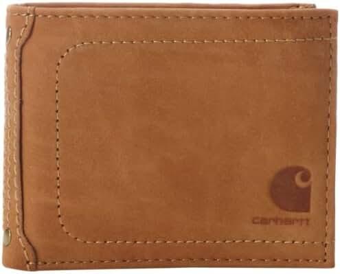 Carhartt Men's Nubuck Passcase Wallet