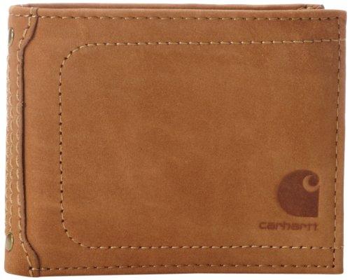 Carhartt Mens Nubuck Passcase Wallet