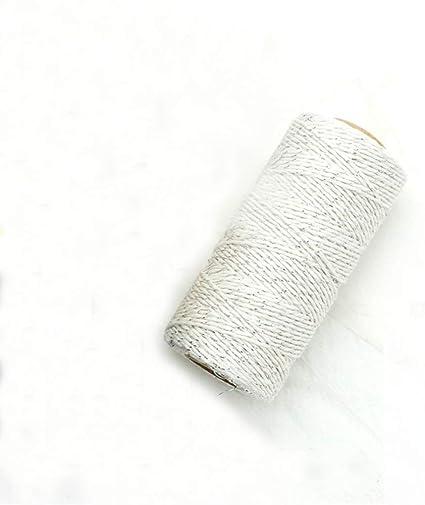 4 rollos de cinta de algodón para envolver regalos, 100 m, para ...