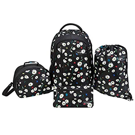 65f9b23dcc99 Amazon.com: Targus Sport School and Commuter Backpack 4-Piece Bundle ...