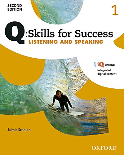 Q: Skills for Success 2E Listening and Speaking Level 1 Student Book