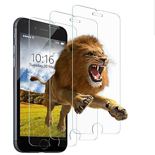 iPhone 6s plus Screen Protector,iPhone 6 plus Screen Protector, 3-PACK Yoyamo Tempered Glass Screen Protector Clear 3D Touch Screen Protection Case for iPhone 6s Plus,iPhone 6 Plus