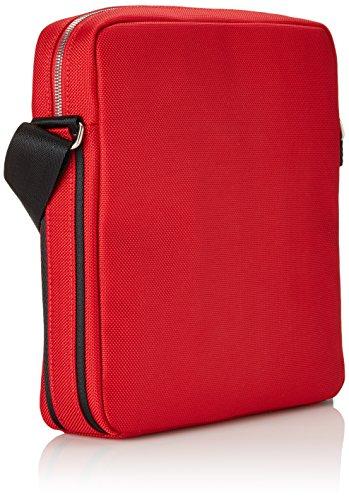 Ferrari 0UT13853 Borsa Messenger, 28 cm, Rosso