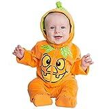 Pumpkin Patch Orange Baby Costume