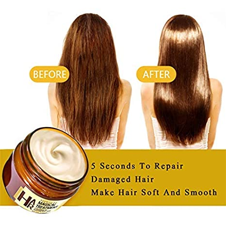Amazon.com: Hair Mask Deep Conditioner, Fine Hair Keratin ...