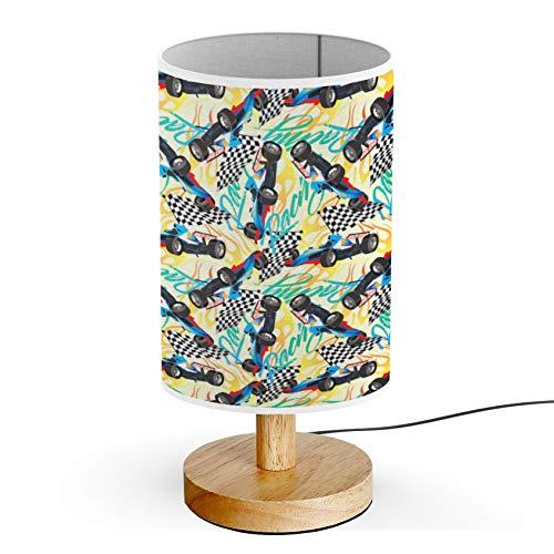 ARTSYLAMP - Wood Base Decoration Desk Table Bedside