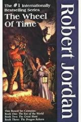 The Wheel of Time, Boxed Set I, Books 1-3: The Eye of the World, The Great Hunt, The Dragon Reborn Mass Market Paperback