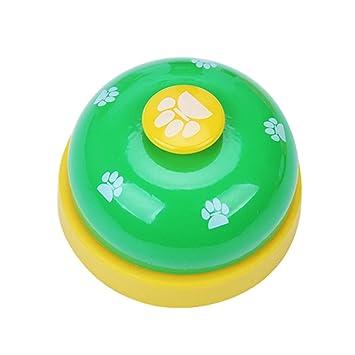 longyitrade Campana de adiestramiento del Metal del Gato del Perro del Animal doméstico Bella de orma Que Juega los clickers de alimentación del Juguete: ...