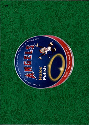 2016 Wacky Packages MLB Grass #3 Angels Halo Polish ()