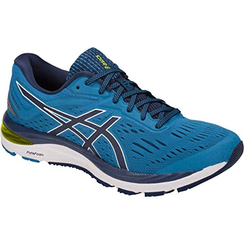 Asics Mens Gel-cumulus 20 Running Shoe Race Blu / Peacoat