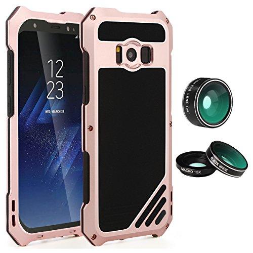 Samsung Galaxy S8Plus lente Kit Case, sherox–3in 1198° Lente + 15x Lente Macro + Gran Angular Lente Ojo de...