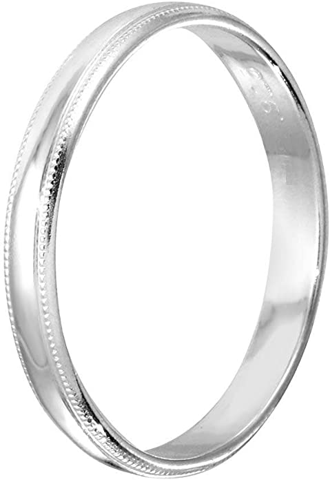 Tungsten Carbide Yellow Enameled Stripe Step-Edge Comfort Fit Half-Round Band Ring