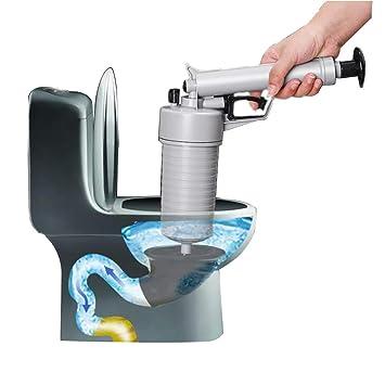 Toilettenkolben Luftablass Blaster Druckpumpenreiniger Hoher