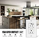 GFCI Outlet Receptacle 15 amp-Weather Resistant