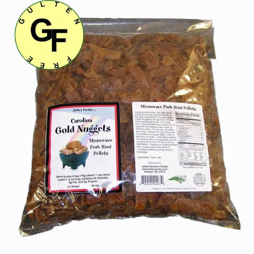 Microwave Pork Rinds 10 Pounds Gluten Free by Carolina Gold Nuggets (Image #3)