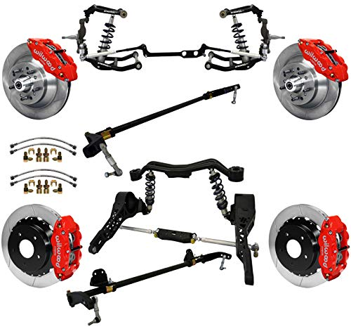 NEW RIDETECH FRONT COILOVER KIT,CONTROL & STEERING ARMS,SPINDLES,FRONT & REAR SWAY BARS,13
