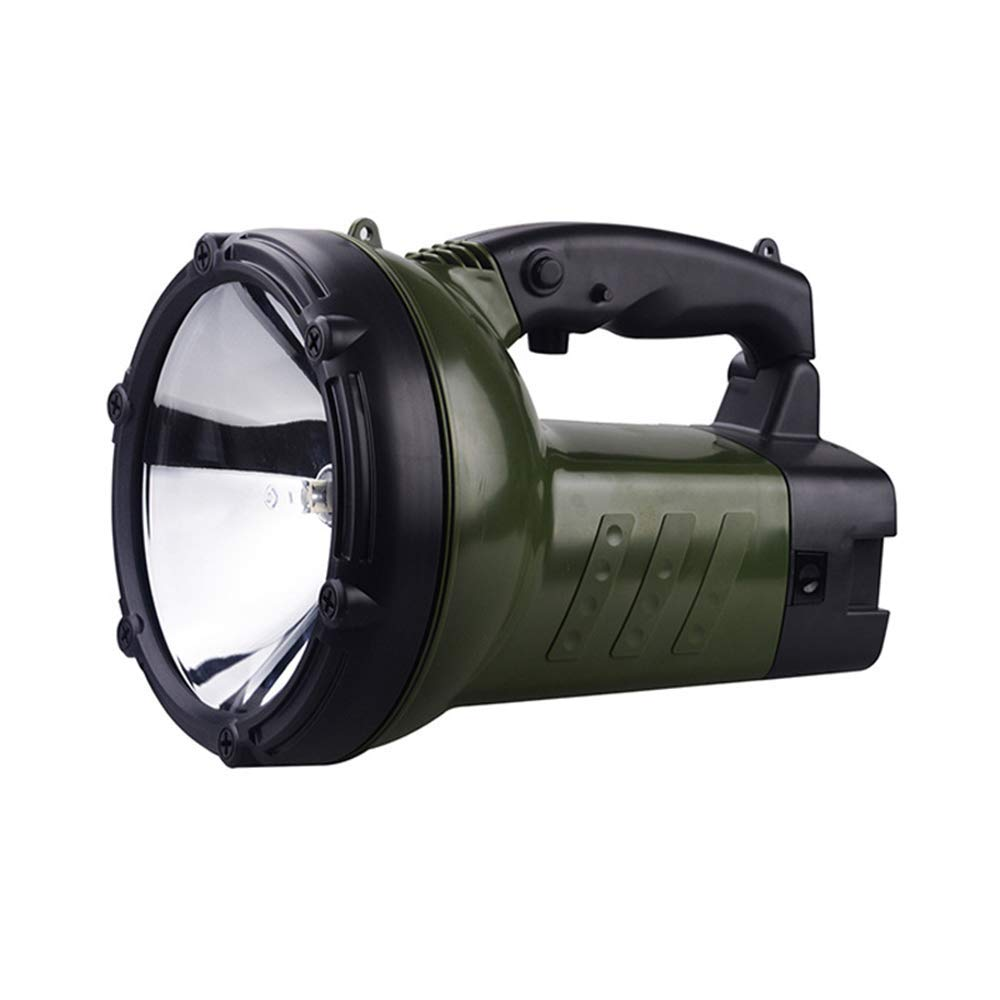 JXSHQS Flashlight Outdoor Glare Searchlight Car Charging 12V5.5AH Remote Control Multi-Function Lamp Adventure Lamp Camping Light Flashlight (Size : 50W) by JXSHQS