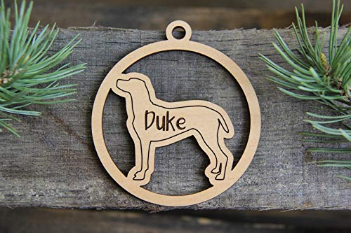 Custom Dog Breed Ornament