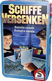 Brettspiel Spiel Schmidt Spiele Solitaire Bring-Mich-Mit-Spiel in Metalldose