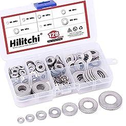 Hilitchi 128-Pcs [M3 - M12] Metric 304 S...