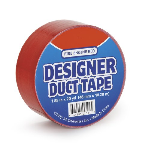 Just for Laughs JFL2504 Duct Tape, 20-Yard, Fire Engine Red ()