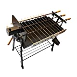 Tritogenia InLine Cyprus Charcoal Grill, Foukou, with one Multispeed 13-55RPM Motor and one 6RPM Motor