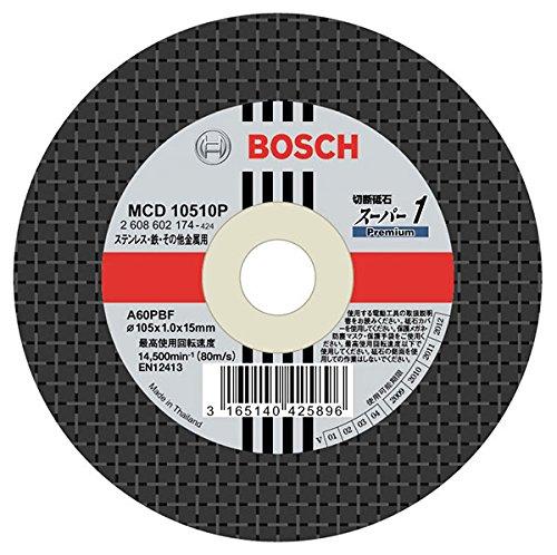 ボッシュ:[切断砥石スーパー1P (200枚) MCD10510P/200 000555308120 B01B3UBOFK
