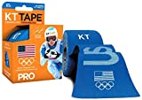 #2: KT TAPE PRO Kinesiology Sports Tape, 20 Precut 10in Strips, 100% Synthetic, Water Resistant, Breathable, Videos, Team USA Olympic Edition