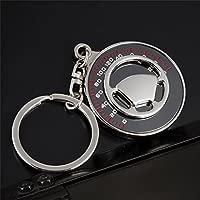 LILSN- El llavero cronómetro creativo del coche llavero ...