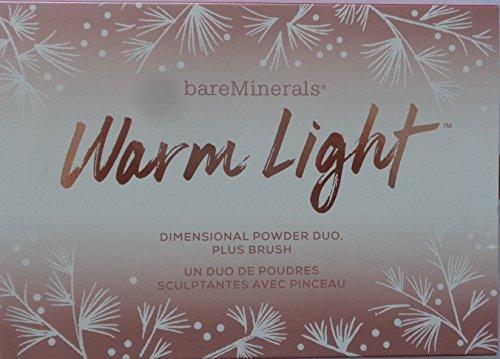 Bare Honey Escentuals - Bare Escentuals Warm Light Dimensional Powder Duo + Brush