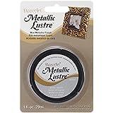 DecoArt Metallic Lustre Wax, 1-Ounce, Silver Spark