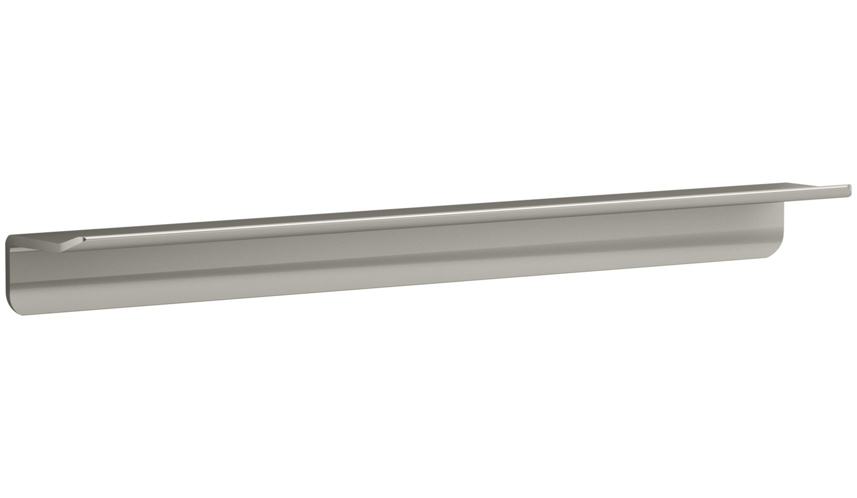 KOHLER K-97623-BNK Choreograph 21'' Floating Shower Shelf, Anodized Brushed Nickel