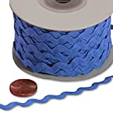 Paper Mart Royal Blue RIC Rac Trim - 7 mm x 25 yd