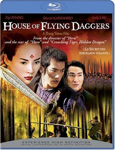The House of Flying Daggers (Bilingual) [Blu-ray] Ziyi Zhang Takeshi Kaneshiro Andy Lau Dandan Song