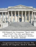 Crs Report for Congress, David F. Burrelli, 1294245600
