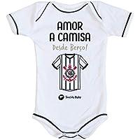 Body Corinthians Amor a Camisa Oficial - Torcida Baby