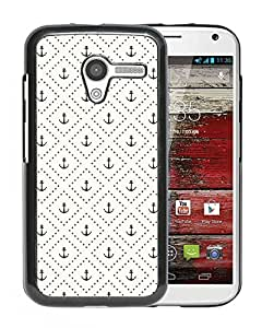 Pattern Of Anchors Durable High Quality Motorola Moto X Phone Case