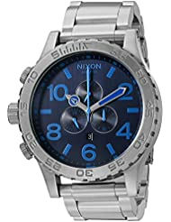 Nixon Mens 51-30 Chrono Quartz Stainless Steel Casual Watch (Model: A0832219-00)