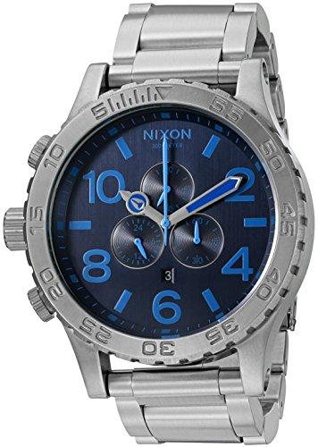 Nixon Men's '51-30 Chrono' Quartz Stainless Steel Casual Watch (Model: A0832219-00)