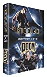 Coffret Fantastique 2 DVD : Doom / Les Chroniques de Riddick