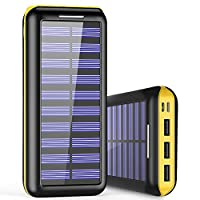 Solar Charger 24000mAh Power Bank High C...